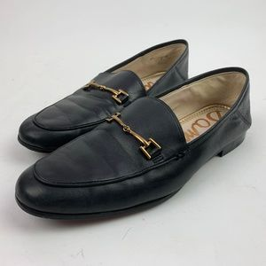 Sam Edelman Navy Horsebit Loafers - Lorraine